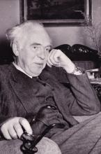 author of the Long Ships in his later years