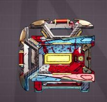 The front loader shield is especially useful for any kind of vault hunter that does well with high shields or low health. As it's name suggests, the front loader reserves health and converts it to shields.