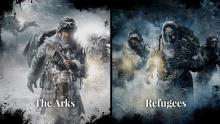 The Arks and The Refugees in Frostpunk