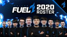The 2020 Lineup for Dallas Fuel.