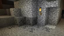 Coal can be found in caves and sometimes generates above ground as well.