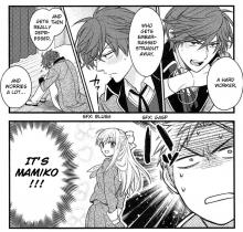 Nozaki takes inspiration from the people around him to create the characters for his manga.