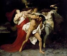 Also called the Erinyes, the Furies were demonic spirits of wrath who sought vengence on those who had committed atrocities.