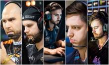 From left to right, TaZ, f0rest, ScreaM, apEX, NBK