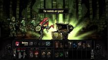 Opening a chest in darkest dungeon.