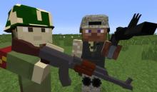 Flan's Mod is the ultimate military mod for Minecraft, adding in weapons and vehicles.