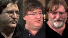 Gabe Newell, from young man to the elder of pc gaming.