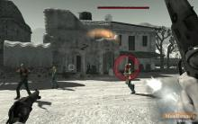 Bullet time in Call of Juarez: Bound in Blood.