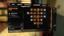 Dying Light gave players the opportunity to level up many different skills.