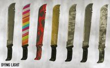 There are many different types of machetes available in Dying Light.
