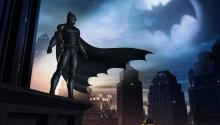 Batman watching over Telltale's Gotham