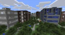 These are a few of the buildings you may encounter in the Lost Cities mod!