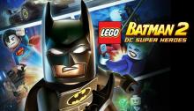 poster for the second Lego Batman game