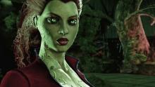 Poison Ivy serves as an ally in Arkham Knight, but she's a difficult foe in the first game.