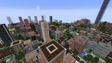Here's another view of a city in the mod Dooglmaoo Cities!
