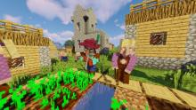 Villagers get an overhaul in appearance and AI in Tektopia.