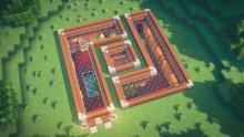 Make the outside of your underground base unique and eye-catching!