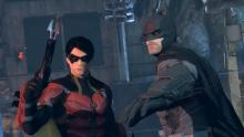 Batman and Robin in Arkham Origins