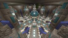 Add pops of color to your underground base to make the atmosphere less dreary.