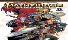 This comic made in collaboration with Dynamite Entertainment shows many of Pathfinder's iconic heroes pulled into a strange and dangerous new world.
