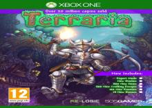 The Xbox One cover of Terraria.