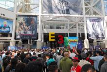 This is how the E3 looks like when you walk in!