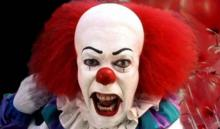 Tim Curry as the first horrifying Pennywise