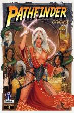 This comic made in collaboration with Dynamite Entertainment shares an adventure helmed by Pathfinder's iconic Sorcerer.