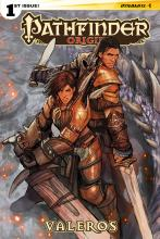 This comic made in collaboration with Dynamite Entertainment shares the story of Valeros the Fighter's early career.