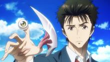 Shinichi and the parasite Migi have joined together to fight against other parasites