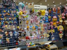 This amazing booth has all the anime plushies you want!
