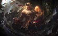 A personal favorite skin, the God Fist Lee Sin skin was picked up by many Lee Sin players upon its release.