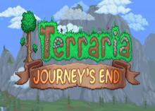 The recently revealed logo of Terraria's newest and final update.