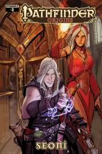 This comic made in collaboration with Dynamite Entertainment details a thirlling adventure of Seoni the Sorcerer.