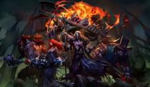 A closer look at the Pentakill band.