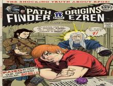 Ezren's iconic tale comes with its own meta-humor cover, exlusively for those that utilize paizo.com
