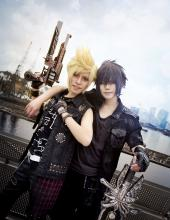 You will see amazing Final Fantasy cosplay!