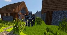 This horror texture pack gives Minecraft a dark and ominous feel.