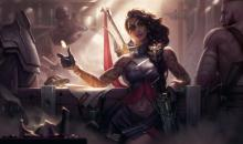 Check out one of the newest ADCs to hit the Rift, Samira!