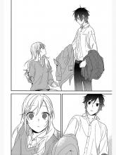 Izumi and Kyoko share a moment with each other in Horimiya