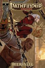 This comic made in collaboration with Dynamite Entertainment covers a high-stakes burglary carries out by Sajan the Monk and Merisiel the Rogue.