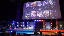 Watch a live Dota tournament on a big screen!