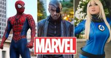 Everyone loves Marvel! Why not cosplay as your favorite hero?
