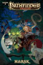 This comic made in collaboration with Dynamite Entertainment relays an adventure carried out by Harsk the Ranger and Lini the Druid.