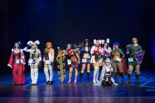 See how people compete against other cosplayers!