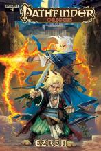 This comic made in collaboration with Dynamite Entertainment spins the tale of Ezren the Wizard.