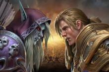 Choose your side in World of Warcraft: Battle for Azeroth.
