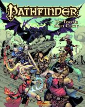 This comic made in collaboration with Dynamite Entertainment shares an adventure carried out by many of Pathfinder's iconic characters.