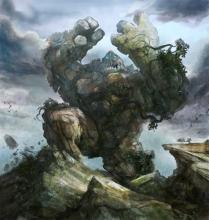 A mighty Elemental causing destruction and mayhem.