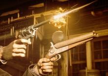 RDR2 Dual-Wield Shotgun / Revolver